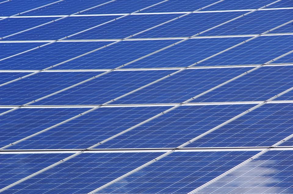 Polykrystalické solární panely